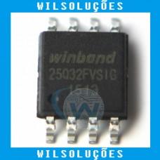Winbond w25q32fvsig - 25q32fvsig -25q32fv - 25q32 - 32M-BIT