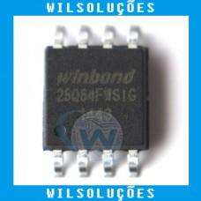 Winbond W25q64fwsig - 25q64fwsig - 25q64fw - 25q64 - 64M-BIT (Bios 1.8v)