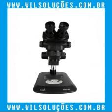 Microscópio Trinocular  - 37050 B3 Preto