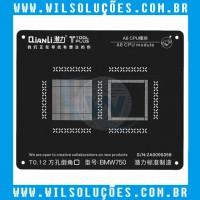 Stencil Qianli 3D iBlack - CPU A8 / A9 / A10 / A11