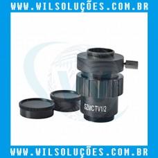 Adaptador de Lente Para Câmera de Microscópio - SZMCTV 1/2