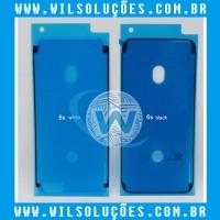 Adesivo Fixação Vedação Para Lcd Display Iphone 6s / 6s plus / 7 / 7 plus / 8/ 8 plus / X / XS / XR / XS Max