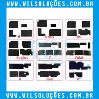 Adesivos Placa Mãe Iphone 6 / 6 Plus / 6S / 6S Plus / 7 / 7 Plus / 8 / 8 Plus / X - Motherboard heat sinks