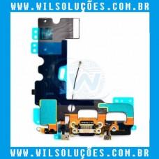 Cabo Flex Apple iPhone 7 7g Dock Conector de Carga