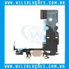 Cabo Flex Apple iPhone 8 8g Dock Conector de Carga
