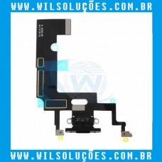 Cabo Flex Apple iPhone XR Dock Conector de Carga