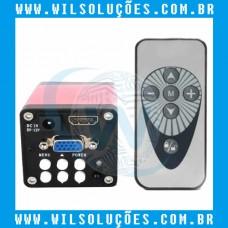 Câmera para Microscópio 13MP HDMI / VGA