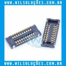 Conector FPC Touch Screen Ipad Mini 1/2/3 com 20 Pinos