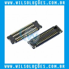 Conector Fpc Lcd - Display Ipad Mini 1/2/3 com 32 Pinos