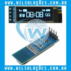 Display Lcd Arduino Oled 0.91 128x32 Ssd1306