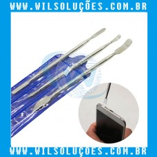 Espátula Multifunção De Aço Reta Yaxun YX688 ou Kit 3 unidades YX3
