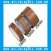 Fita Termica Teflon Alta Temperatura 10mm - 12mm - 15mm - 20mm 25mm - Rolo 10mts