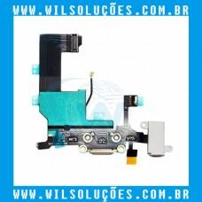 Cabo Flex Apple iPhone 5 5g Dock Conector de Carga