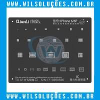 Stencil iBlack Plus Qianli para Iphone 6 / 6Plus / 6S / 6S Plus / 7 / 7Plus / 8 / X / XS / XS Max / XR