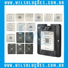 Plataforma magnética para CPU A8 / A9 / A10 / A11 / A12 / A13 Base Magnética