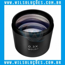 Lente Para Microscópio Trinocular 0.3X