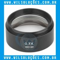Lente Para Microscópio Trinocular 0.7X
