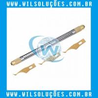 Limpador de cola - Removedor de Resíduos - Bisturi Qianli 008 - 3 laminas