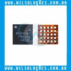 M005X02  - MOO5X - M00SX02 - M005 - X02 - IC CHIP DE FONTE DE ALIMENTAÇÃO SAMSUNG GALAXY S8 S8 +