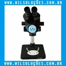 Microscópio Trinocular 37045A - Preto