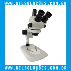 Microscópio Trinocular  - ZS7050 Branco