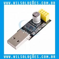Modulo Adaptador Usb Serial Para Wifi Esp8266 Esp-01