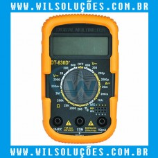 Multímetro Digital Portátil DT-830D+