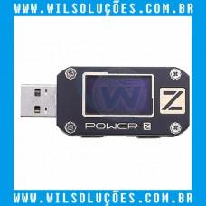 POWER-Z Multimedidor USB KM001 – Voltímetro e Amperímetro