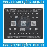 Stencil Black 2D – Msm 8953/8917 Cpu – para Note 4X - 4/4A/5A/5PLUS/S2/pro/5X/MAX2
