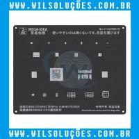 Stencil Black 2D – 636/660 Cpu – para Note 5 - Note 5 Pro - Note 3/6x
