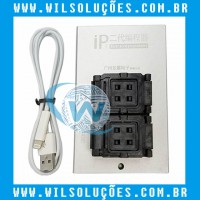 IP-BOX PROGRAMADOR DE ALTA VELOCIDADE IP BOX II - IPBOX V2 - NAND FLASH REPAIRING