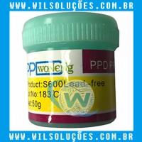 Pasta de solda -  PPD Pro paste S600 Lead-free 183ºc
