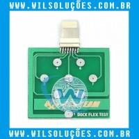 Placa De Teste Micro Dock Flex Teste Iphone U2 - Dock teste