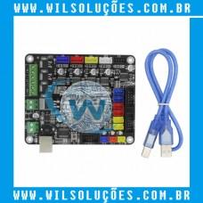 Placa para impressora 3D Biqu-base V1.0 com cabo Mega 2560