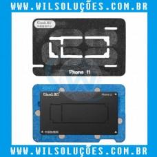 Plataforma Reballing – iphone 11 - Qianli Base Suporte