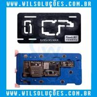 Plataforma Reballing – iphone X, XS, XS Max - Qianli Base Suporte