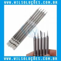 Ponta de Ferro de Solda T12-BC1 - T12-ILS - T12-D24 - T12-BL - T12-K Com 5 unidade