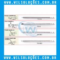 Ponta de Ferro de Solda T13-BC1 / T13-BC2 / T13-ILS / T13-K / T13-I / T13-J02 - Para Bakon 950D