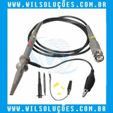 Ponta De Prova Osciloscópio 100mhz X1 - X10 - 600v - P6100