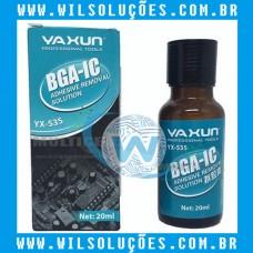 Removedor De Cola Resina Bga Yaxun YX535 20ml