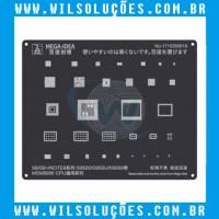 Stencil Black 2D – Msm 8996 Cpu – para S8, S8+, Note 8, G9500, G955U, N95000