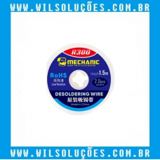 Malha Dessoldadora Mechanic R300 1,5mx2,0mm