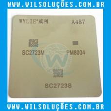 Stencil A487 - SC2723M - PM8004 - SC2723S