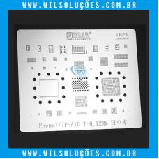 Stencil Amaoe Iphone 7 / 7 Plus / 8 / 8 Plus / X / Xs / Xs Max / Xr / 11 / 11 Pro / 11 Pro Max - Reballing Bga
