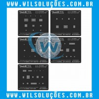 Stencil Qianli 3d - Power logic module iphone 5s/6/6s/7/8