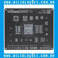 Stencil Qianli Tool Plus 3d Black - Kirin 655/ 659