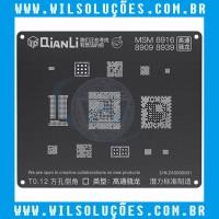 Stencil Qianli Tool Plus 3d Black - Msm 8916/ 8909/ 8939