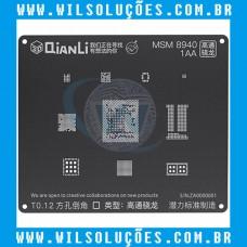 Stencil Qianli Tool Plus 3d Black - Msm 8940 1AA
