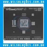 Stencil Qianli Tool Plus 3d Black - Msm 8953 1AB