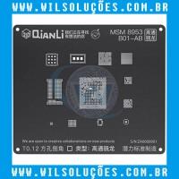 Stencil Qianli Tool Plus 3d Black - Msm 8953 B01-AB